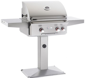 American Outdoor Grill 24NPT Patio Post Mount Gas Grill