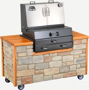 The Good- One Heritage Charcoal Built In Grill