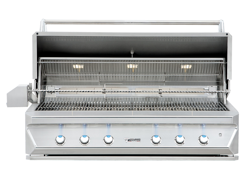 "Twin Eagles 54"" Gas Grill Built In"
