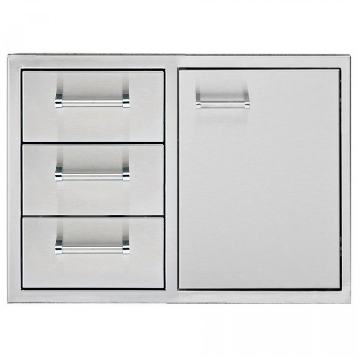 "Delta Heat 30"" Door/Three Drawer Combo"