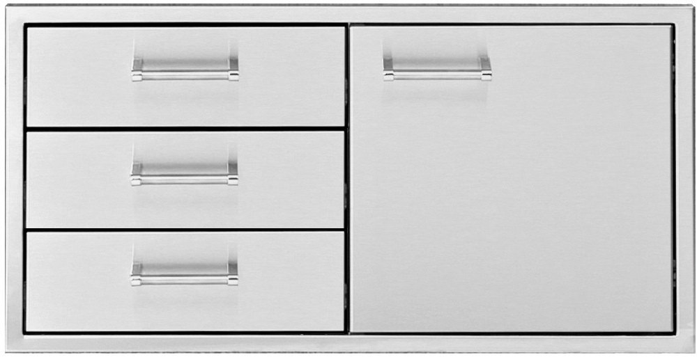 "Delta Heat 36"" Door/Three Drawer Combo"