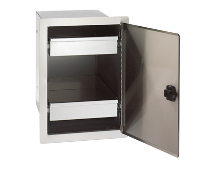 Fire Magic Legacy Single Door with Dual Drawers