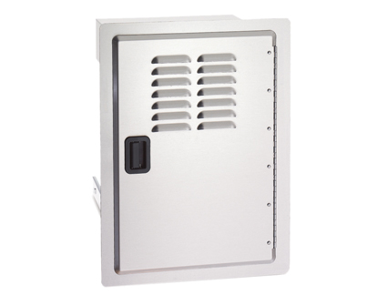 Fire Magic Legacy Single Access Door with Tank Tray and Louvers