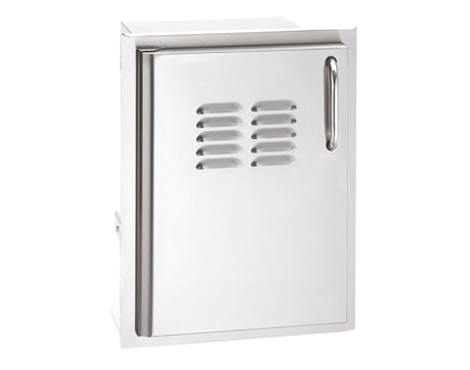 Fire Magic Select Single Access Door with Tank Tray and Louvers