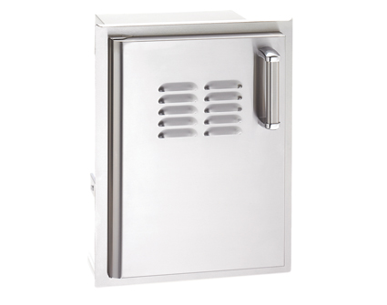 Fire Magic Premium Single Access Door with Tank Tray and Louvers