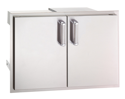 Fire Magic Premium Double Doors with Trash Tray and Dual Drawers