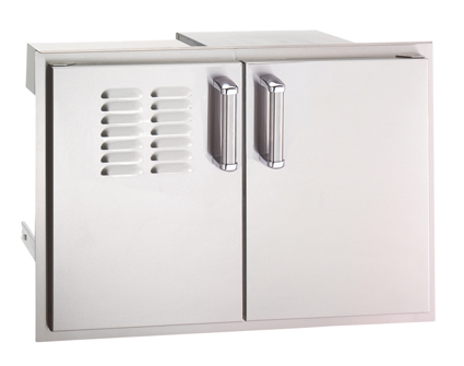 Fire Magic Premium Double Doors with Two Dual Drawers