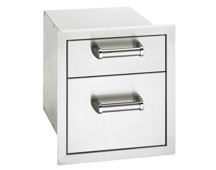 Fire Magic Flush Mounted Double Drawer