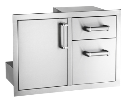 Fire Magic Flush Mounted Door/Drawer Combo