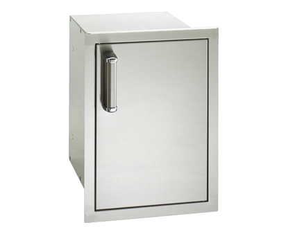Fire Magic Flush Mounted Single Door with Dual Drawers