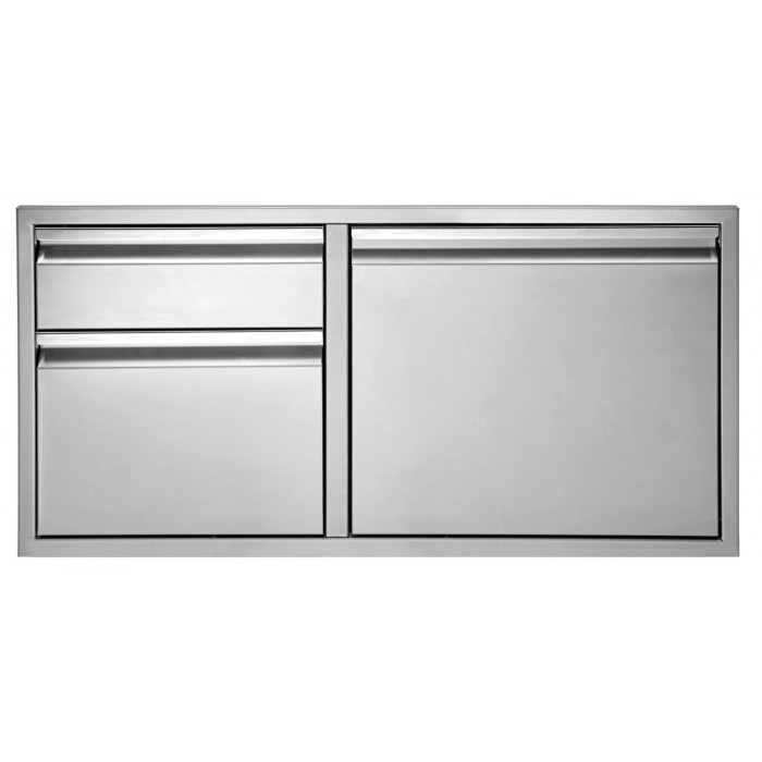 "Twin Eagles 30"" Door/Two Drawer Combo"